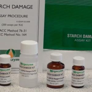 Megazyme Starch Damage Assay Kit