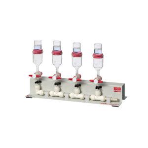 SC4 behrotest® filtration unit for crude fibre separation